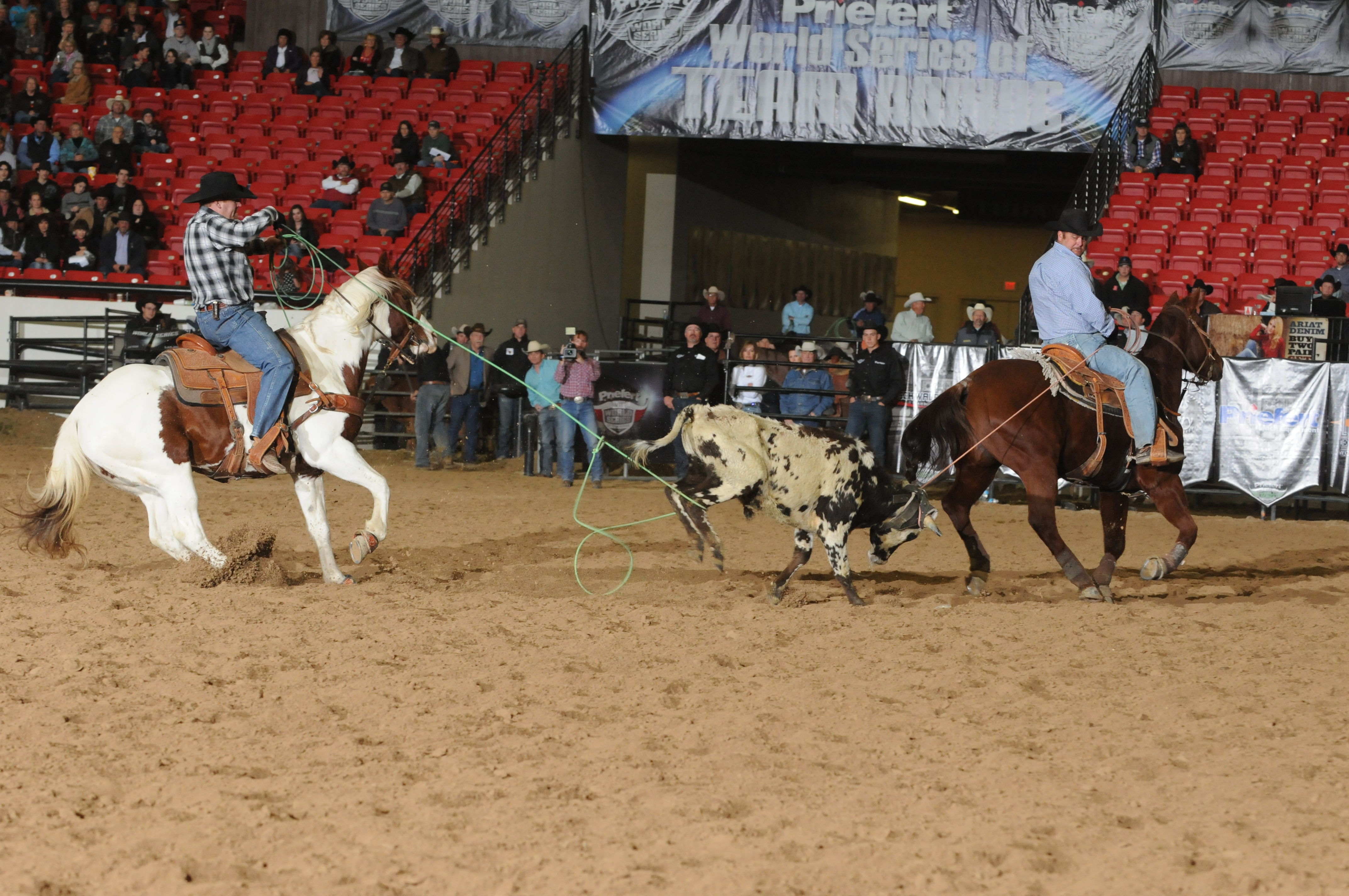 action boston weir Ark Customers Win World Series of Team Roping Event