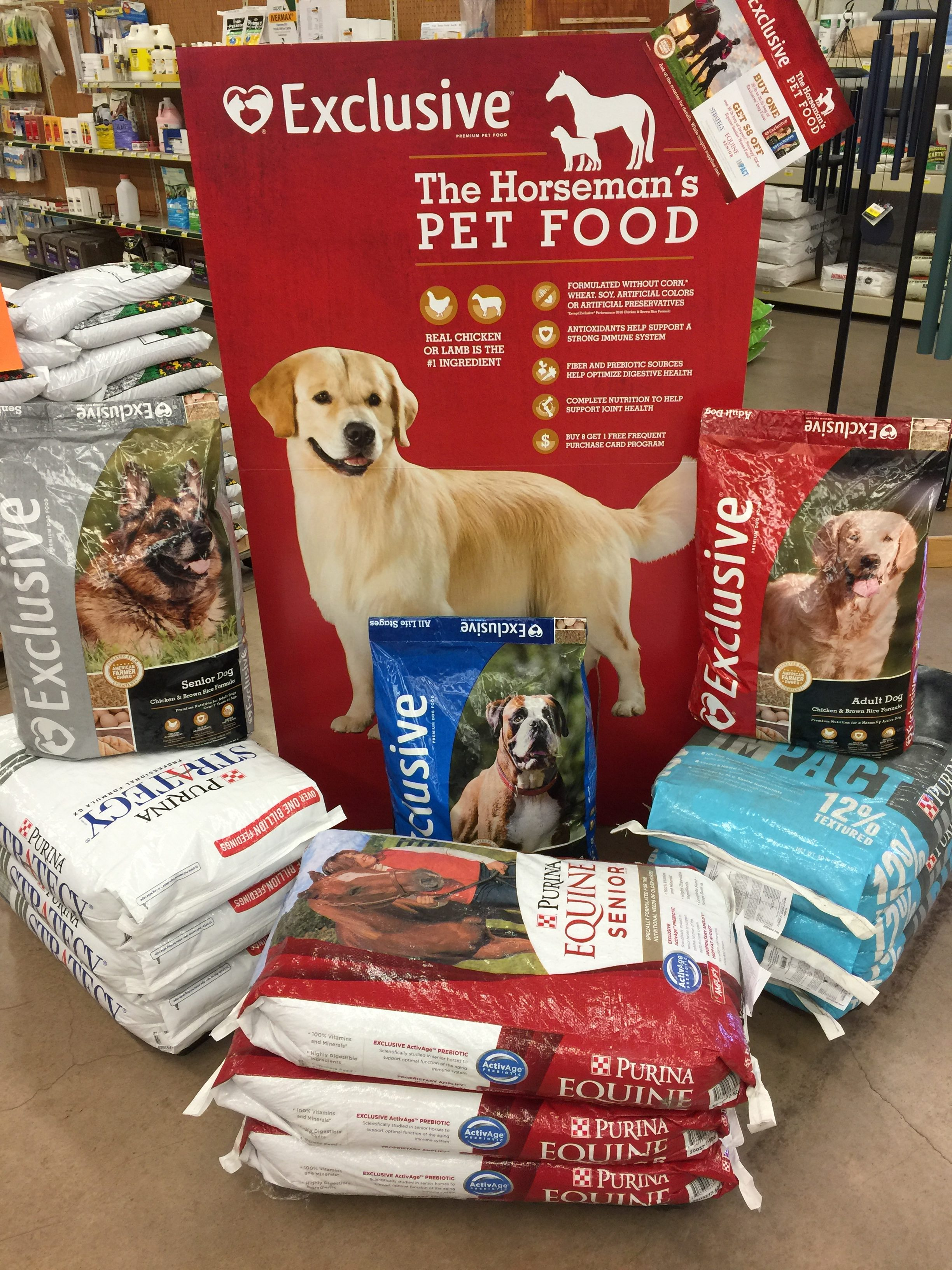Buy Exclusive Pet Food – Get $8 f Select Purina Horse Feeds Ark