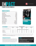 Impact Professional Performance Sell Sheet Page 2