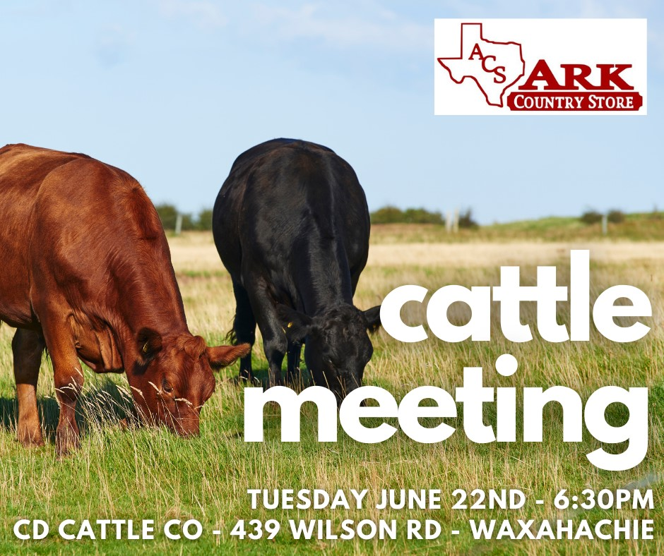 Ark Country Store Cattle Meeting June 22, 2021